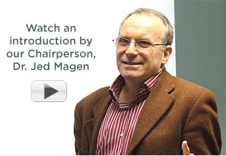 Watch an introduction by our Chairperson, Dr. Jed Magen